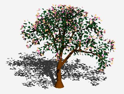 Planos de Arbol en 3d 015, en Arboles en 3d – Arboles y plantas