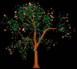 Arbol en 3d 015, en Arboles en 3d – Arboles y plantas