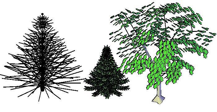 imagen Arboles 3d, en Arboles en 3d - Arboles y plantas