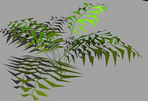 imagen Arbusto 3d, en Plantas de interior 3d - Arboles y plantas
