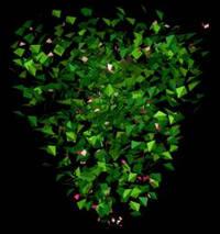 Planos de Arbustos en 3d 008, en Arbustos en 3d – Arboles y plantas