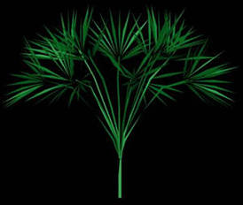 imagen Arbustos en 3d 010, en Arbustos en 3d - Arboles y plantas