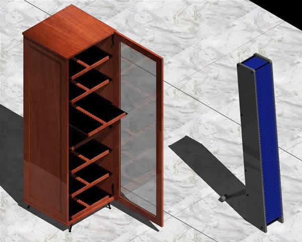 imagen Archivadores 1 3d, en Muebles varios - Muebles equipamiento