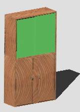 Planos de Armario 3d, en Estanterías y modulares – Muebles equipamiento
