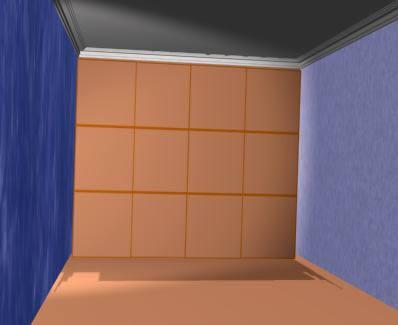 imagen Armario empotrado 3d, en Placards - guardarropas - Aberturas