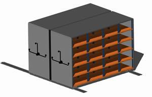 Planos de Armario movil 3d, en Oficinas y laboratorios – Muebles equipamiento
