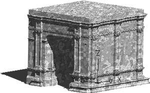 Planos de Arquillo del ayuntamiento de sevilla, en Monumentos y esculturas – Historia