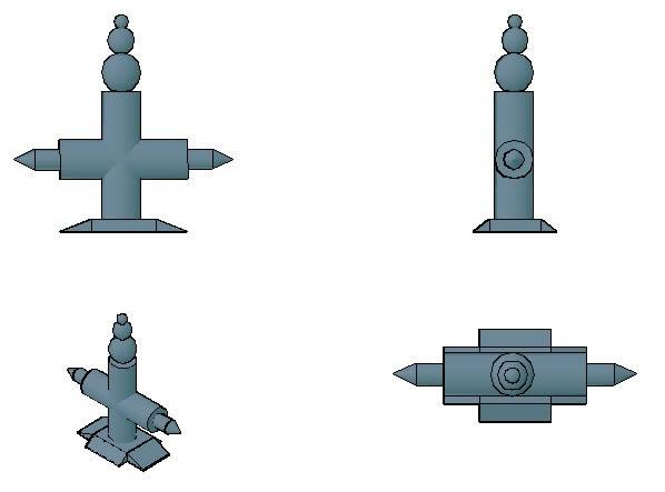 Planos de Arquitecto de interiores, en Ejercicios varios – Dibujando con autocad