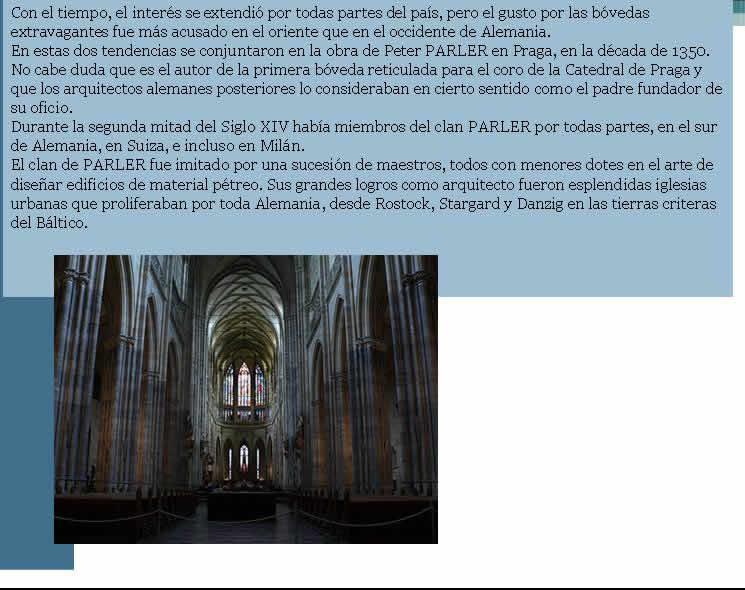 Arquitectura gotica en alemania, en Monografías – Historia