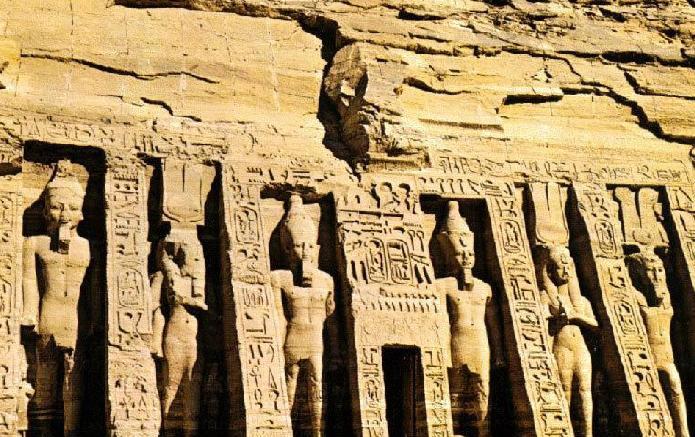 Arquitectura religiosa del antiguo egipto, en Monografías – Historia