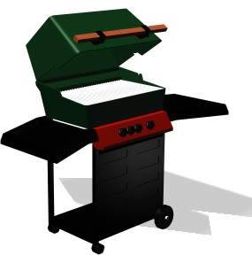 imagen Asador movil electrico - grill 3d, en Quinchos - churrasquerías - cocinas alternativas - Parques paseos y jardines