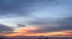 Atardecer, en Cielos – Objetos paisajísticos