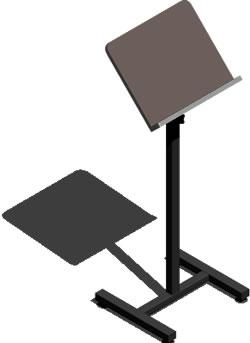 imagen Atril 3d, en Muebles varios - Muebles equipamiento