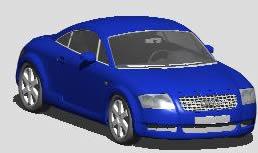 Planos de Audi 3d, en Automóviles en 3d – Medios de transporte