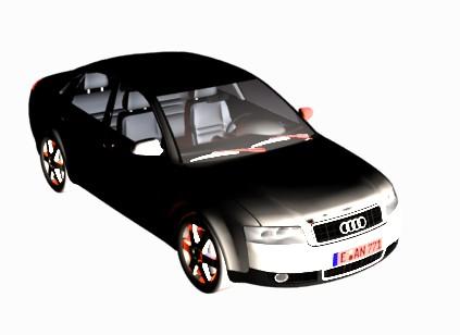 Planos de Audi a4, en Automóviles en 3d – Medios de transporte