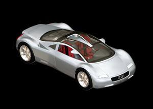 Audi, en Automóviles en 3d – Medios de transporte
