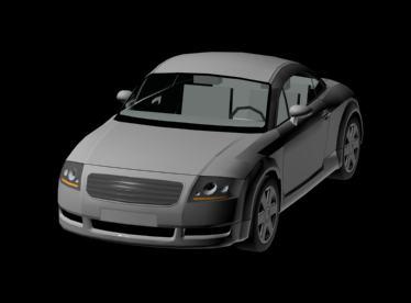 Audi tt 3d, en Automóviles en 3d – Medios de transporte