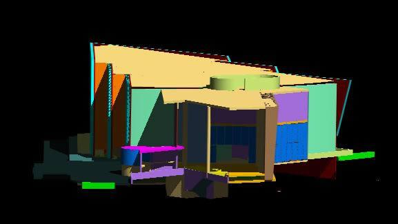 imagen Auditorio 3d, en Auditorios cines - Proyectos
