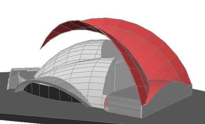 Planos de Auditorio tenerife en 3d, en Auditorios cines – Proyectos