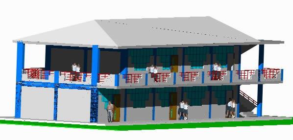 Planos de Aulas 3d, en Establecimientos educacionales – Proyectos