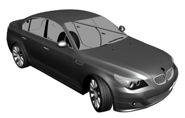 imagen Auto 3d, en Automóviles en 3d - Medios de transporte