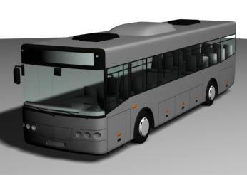 imagen Autobus 3d, en Autobuses - Medios de transporte