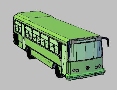 Planos de Autobus 3d, en Autobuses – Medios de transporte