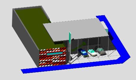 Planos de Automotora melipilla, en Proyectos varios – Proyectos