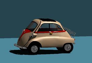 Planos de Automovil 3d iseta, en Automóviles en 3d – Medios de transporte