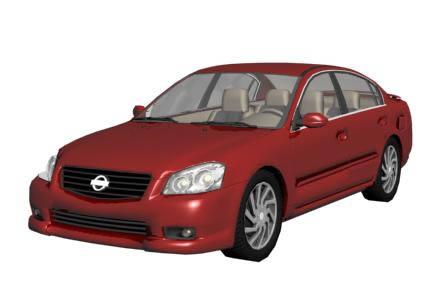 Automovil 3d – nissan altima, en Automóviles en 3d – Medios de transporte