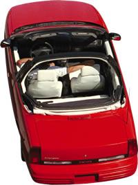 imagen Automovil - aerial oldsmobile convertible automobile, en Automóviles - fotografías para renders - Medios de transporte