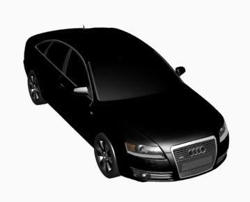 Automovil  – audi a6 3d, en Automóviles en 3d – Medios de transporte