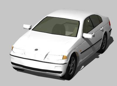 Planos de Automovil bmw _ 325 3d, en Automóviles en 3d – Medios de transporte