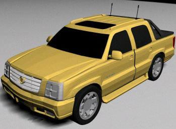 Planos de Automovil cadillac 3d escalade, en Utilitarios – Medios de transporte