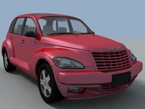 Automovil chrysler 3d, en Automóviles en 3d – Medios de transporte