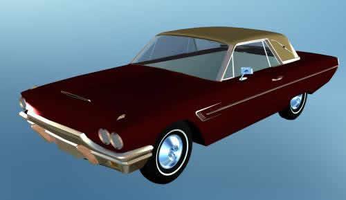 Automovil ford 3d, en Automóviles en 3d – Medios de transporte
