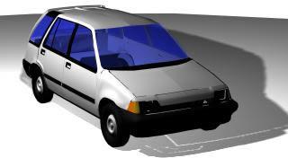 imagen Automovil rural 3d, en Automóviles en 3d - Medios de transporte