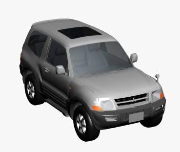 Automovil toyota 3d, en Automóviles en 3d – Medios de transporte