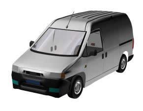 Automovil utilitario 3d, en Utilitarios – Medios de transporte