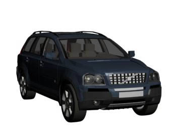 Automovil volvo xc90 3d, en Automóviles en 3d – Medios de transporte