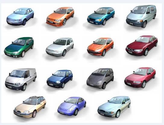 imagen Automoviles 3d max, en Automóviles en 3d - Medios de transporte