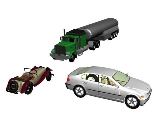 imagen Autos 3d, en Automóviles en 3d - Medios de transporte