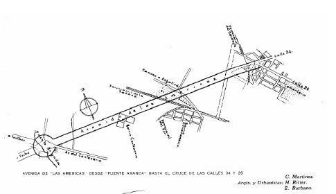Planos de Avenidas de bogota, en Centros históricos urbanos – Historia