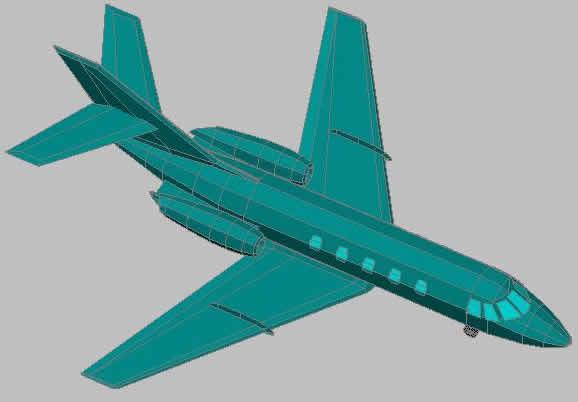Planos de Avio 3d, en Aeronaves en 3d – Medios de transporte