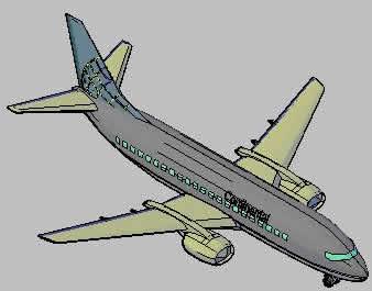 Planos de Avion 3d, en Aeronaves en 3d – Medios de transporte