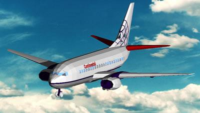 Planos de Avión 747 3d, en Aeronaves en 3d – Medios de transporte