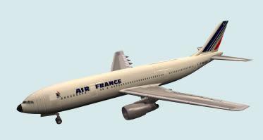 Avion airbus.zip, en Aeronaves en 3d – Medios de transporte