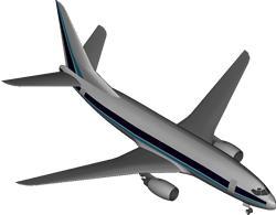 Planos de Avion boeing 737, en Aeronaves en 3d – Medios de transporte