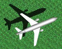 imagen Avión comercial 3d, en Aeronaves en 3d - Medios de transporte