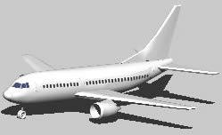 Planos de Avión comercial, en Aeronaves en 3d – Medios de transporte
